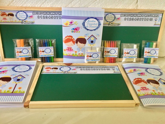 Kit Educativo Lousa