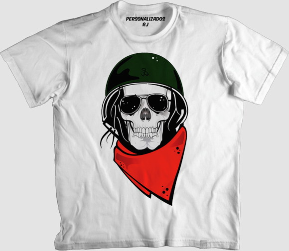 Camisa Caveira Militar  3d100bdcf8b68