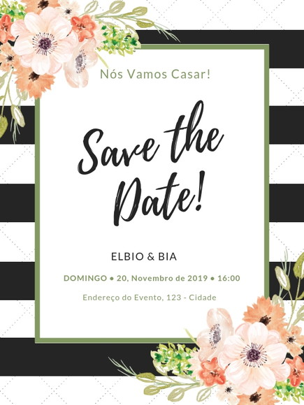 Arte Digital - Save the Date M001