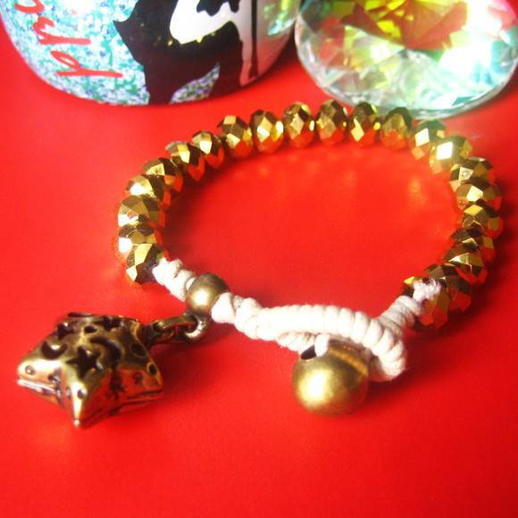 Pulseira Tribal Cristal - do