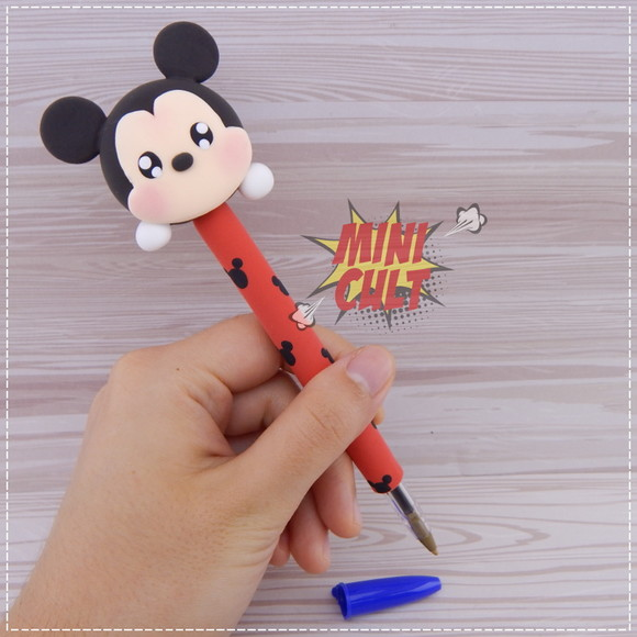Caneta Decorada Mickey Tsum-tsum