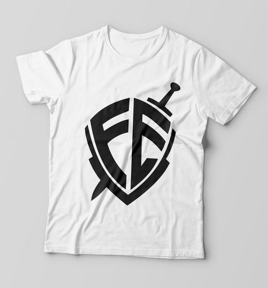 Camiseta Infantil Escudo da Fe Evangelica Gospel Religiosa  35e06aa14539d