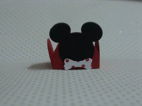 FORMINHA DE DOCE DA FESTA DO MICKEY