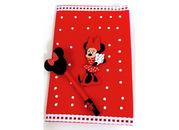 Kit Caderno (Minnie G)