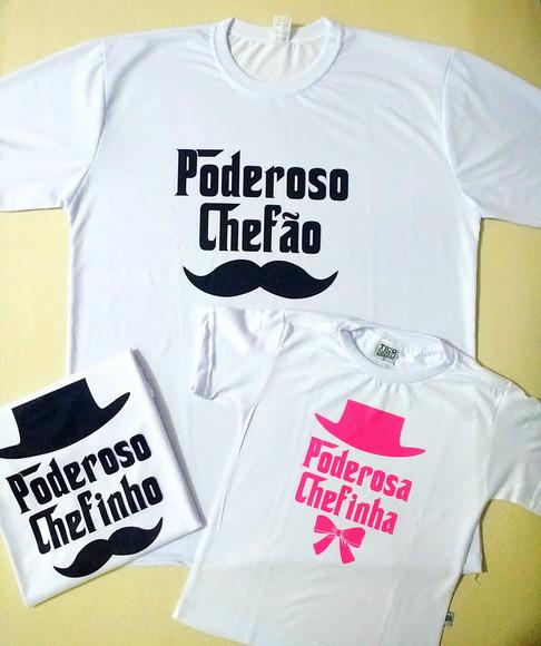 Camiseta Poderoso Chefinho  2572984e0f0
