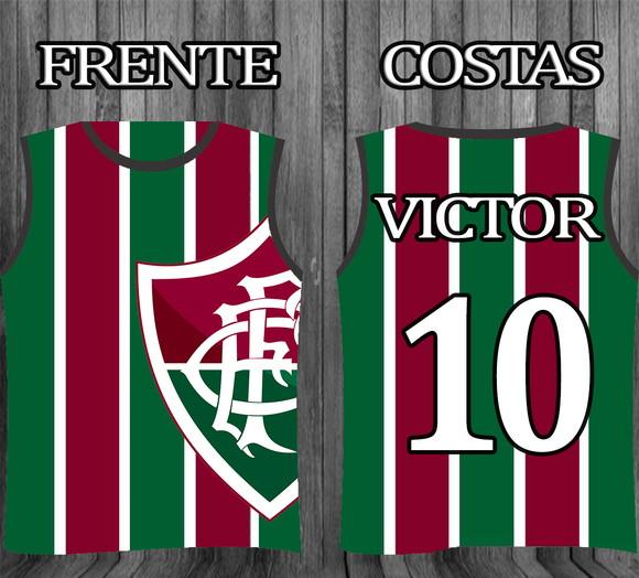 Regatas Personalizada Times Fluminense  cf36f59526e53