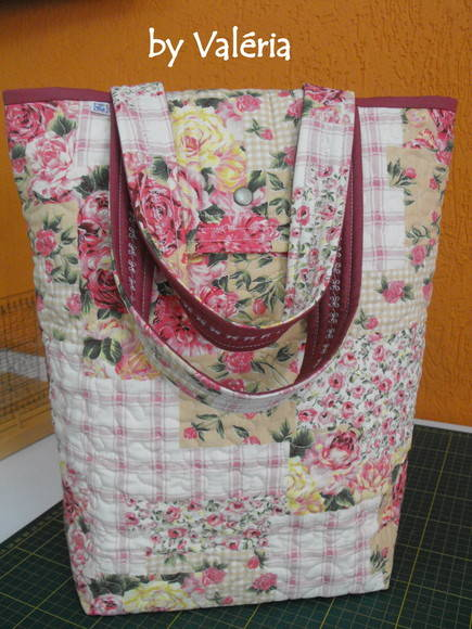 Bolsa Day by Day Floral Rosa