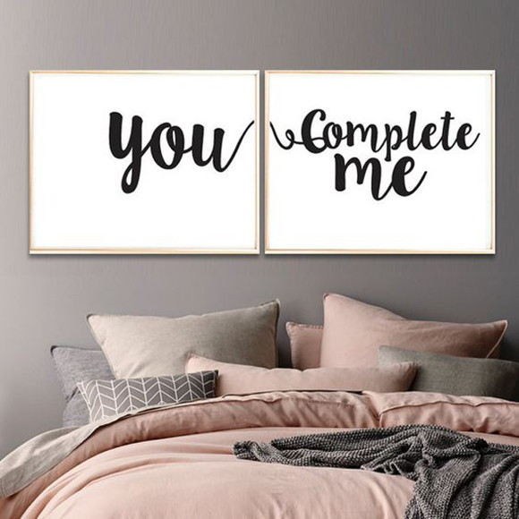 Poster You Complete Me - imprimir