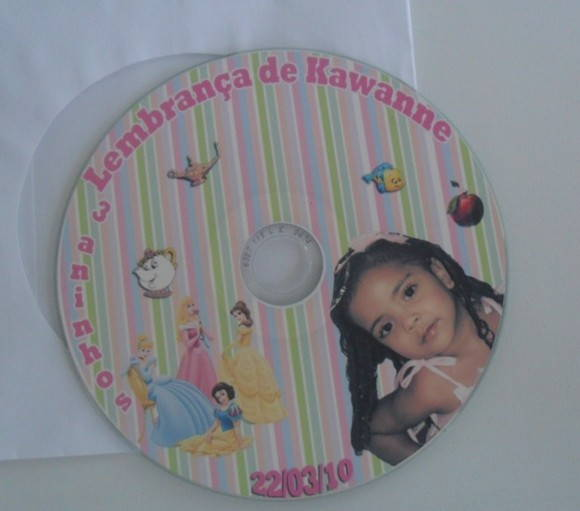 CD personalizado no tema