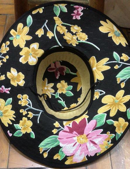 Chapeu Floral  eda179ddc99