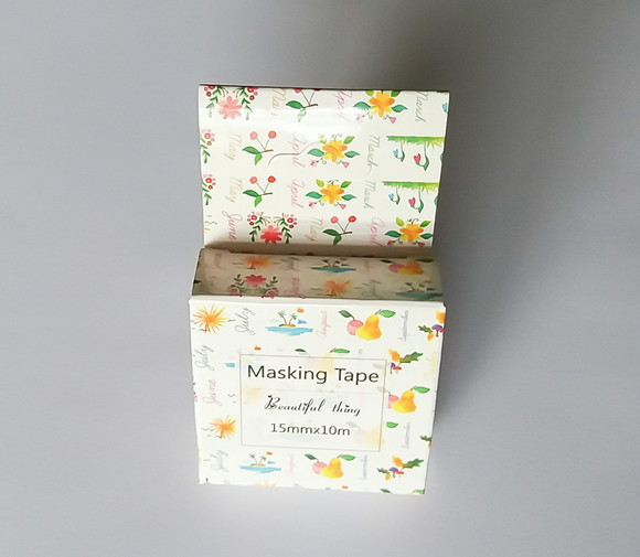 Washi Tape - Meses, Flores, Frutos - W00322-1