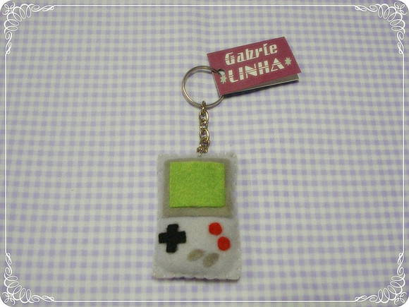 Chaveiro Game Boy