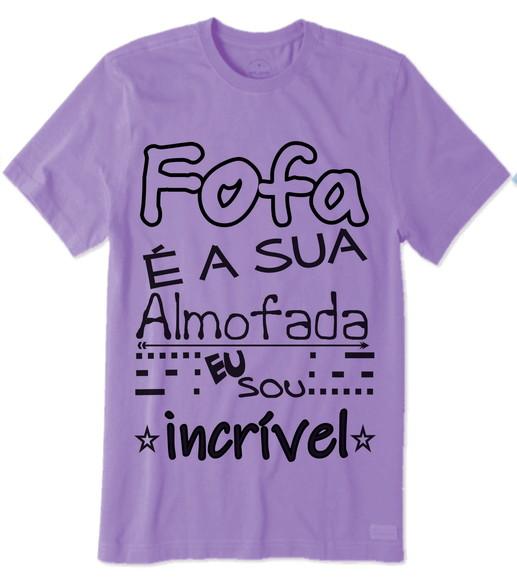 Almofada 35 Camiseta Com Frase Elo7