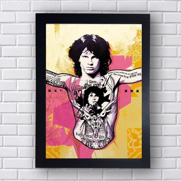 Quadro Decorativo The Doors