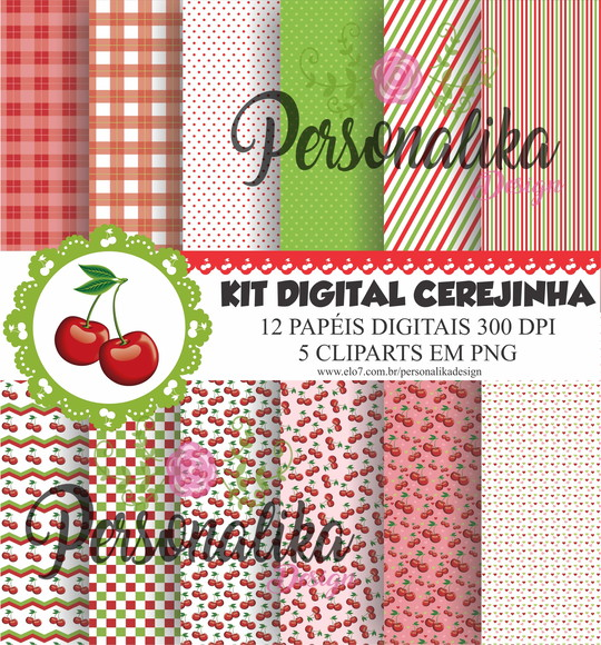 KIT DIGITAL CEREJINHA