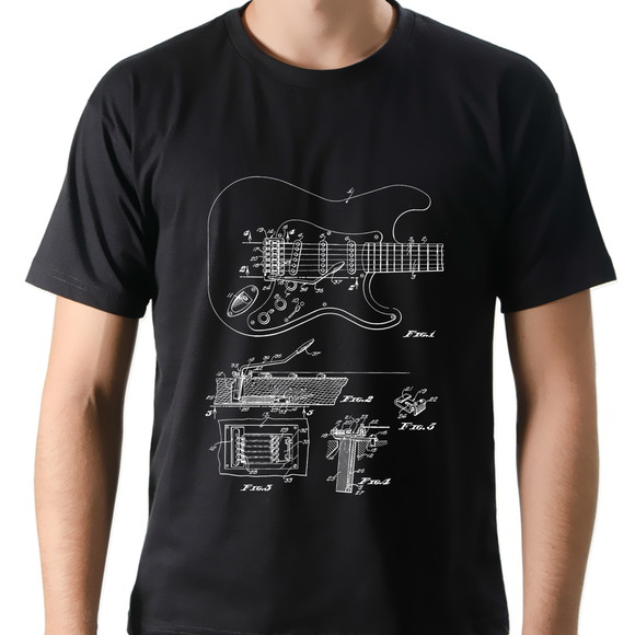 Camiseta Camisa Rock Guitarra Tremolo