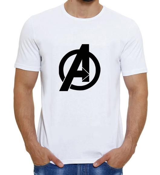 850f002442 Camiseta Avengers os Vingadores Marvel