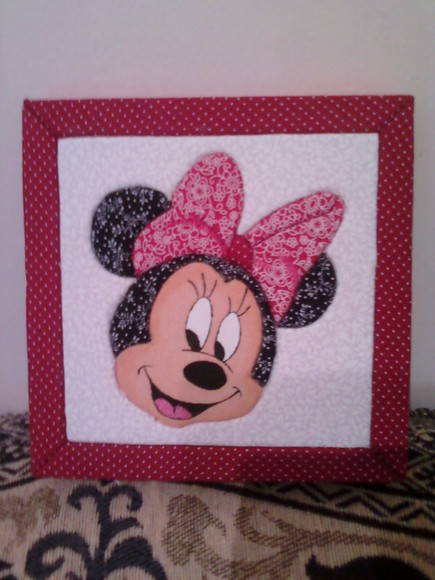 Caixa Patch Embutido Minnie
