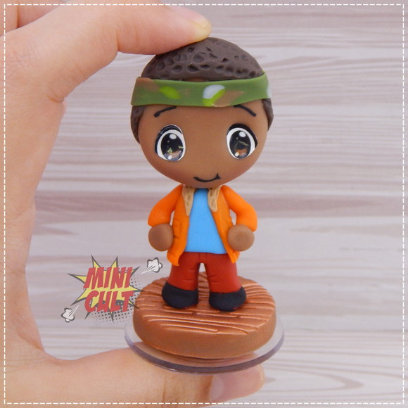 Mini Toy Chibi Lucas - Stranger Things