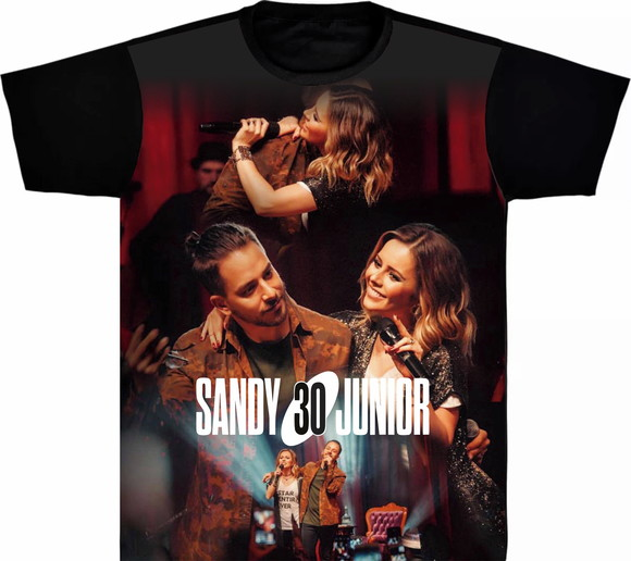 Camiseta Sandy e Junior - foto