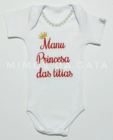 Body Princesa da Titia