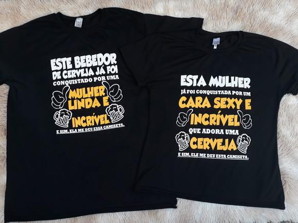 6bdc390273 Camisetas para Casal com Frases