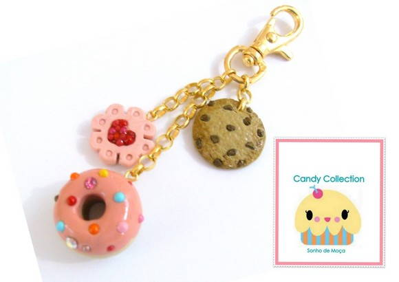 Candy Collection - bag charm 001
