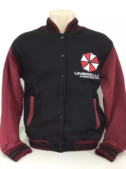 7d0b27d96 Moletom College Resident Evil Umbrella Corporation Bordado no Elo7 ...