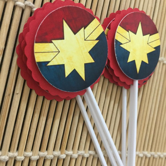 Toppers Capitã Marvel