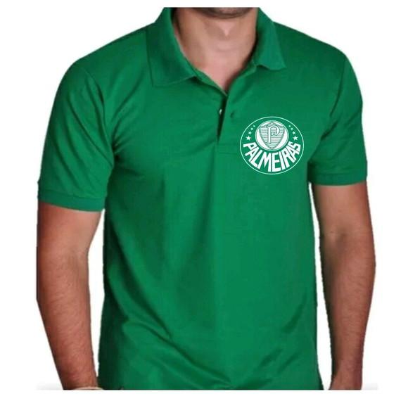aea9bd3497 Camisa Polo Verde Agua