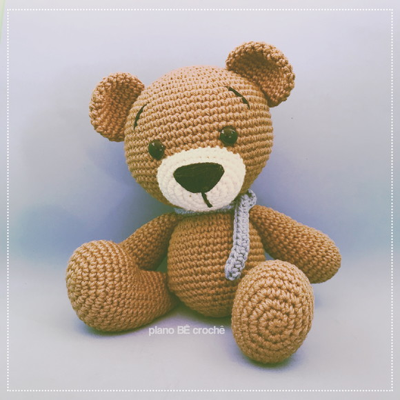 Urso Retalho | Dodói - Amigurumi no Elo7 | Ateliê da Vovó Marcia ... | 580x580