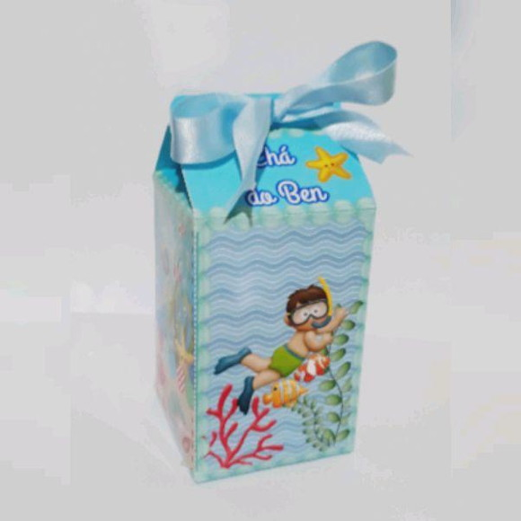 Caixa milk fundo do mar