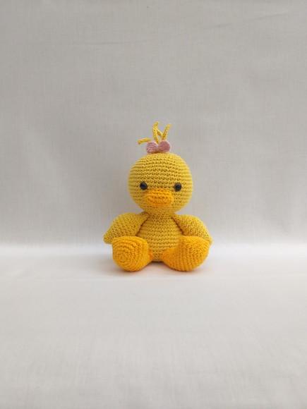 Pulcino Uncinetto Amigurumi Tutorial 🐤 Chick Crochet - Duck ... | 580x435