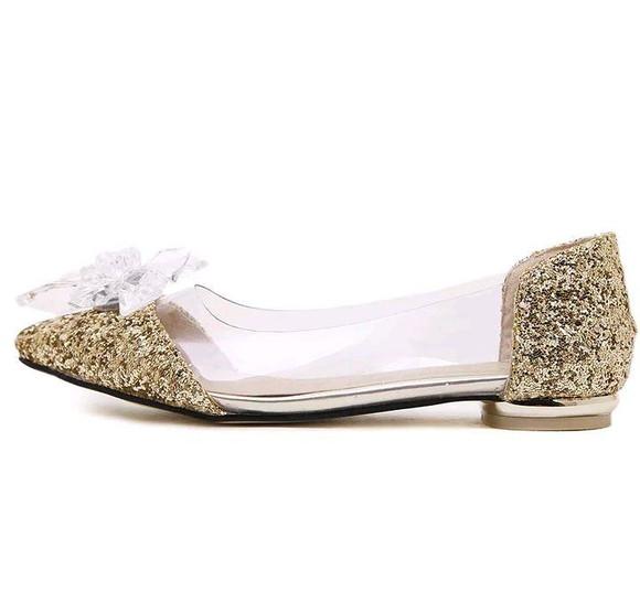 44952857d Sapatos para Debutantes Dourado | Elo7