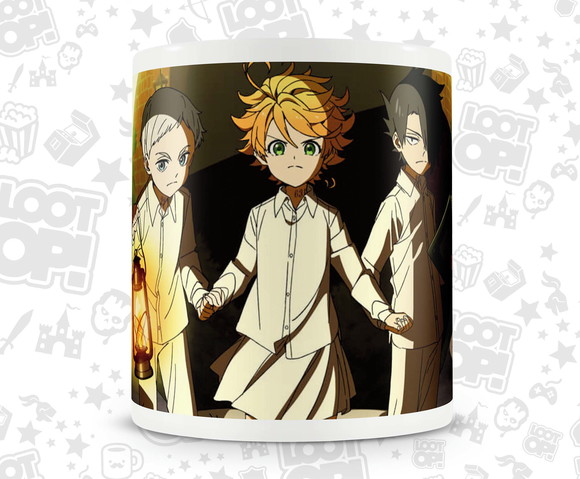 Caneca Anime The Promised Neverland LO016