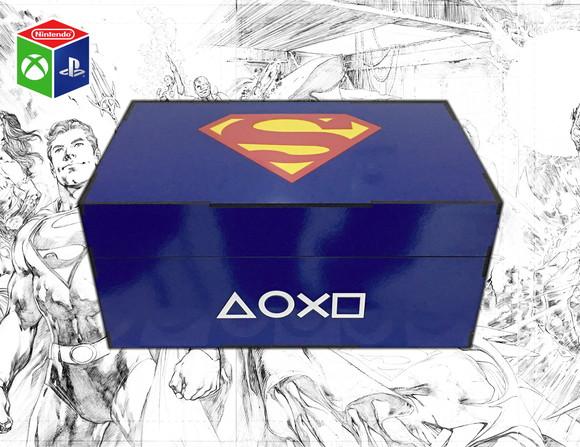 Porta jogos para PS3/PS4/Xbox One Superman