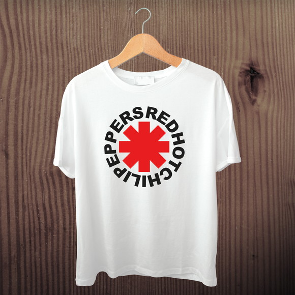 Camiseta Rock Red Hot Chili Peppers