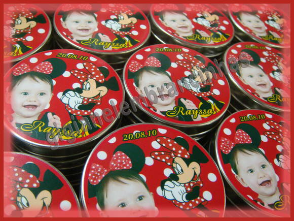 Latinhas Mint to be - Personalizadas
