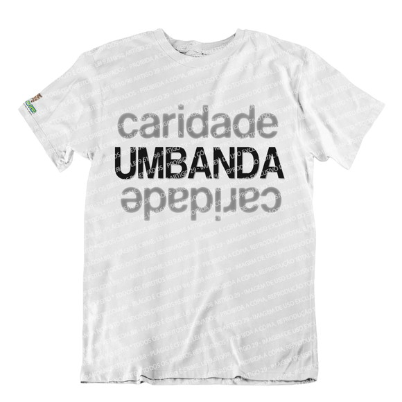 Camiseta Exú Pombagira Moça Cigana Umbanda Candomblé - R