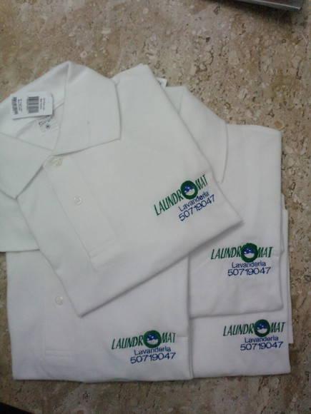 Camiseta Gola Polo Branca no Elo7  ffdd9b78334d3