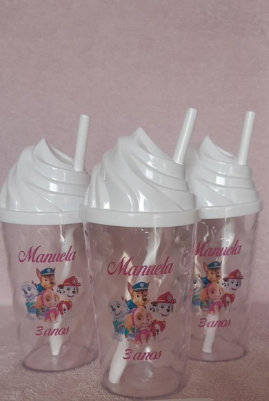 10 COPOS TWISTER/CHANTILLY JUNINA/MINNIE/MICKEY/PATRULHA CAN