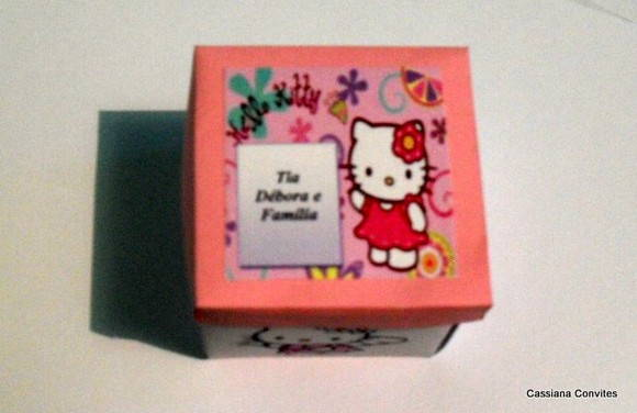 Convite da HELLO KITTY