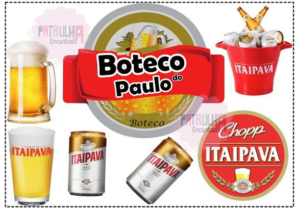 Arte Digital Topo De Bolo Cerveja Elo7