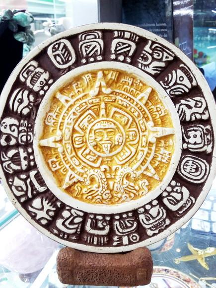 Calendario Esoterico.Placa Calendario Maia Modelo 4