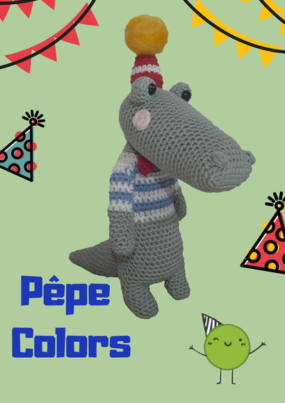 AMIGURUMI PÊPE COLORS