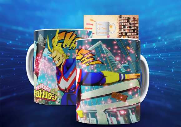 Caneca My Hero Academia Anime Boku No Hero Academia Mod:4