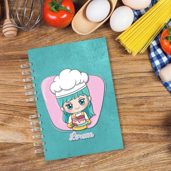 Caderno de Receitas - Mestre Cuca Lorena no Elo7   Fran