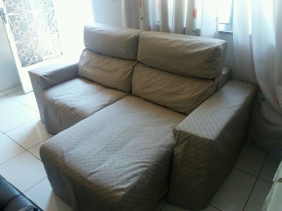 Capa para sofá retrátil até 3,00m comprimento no Elo7 ...
