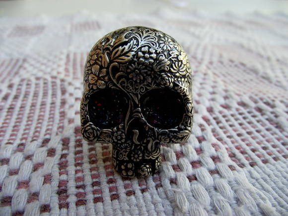 Anel Mexican Skull