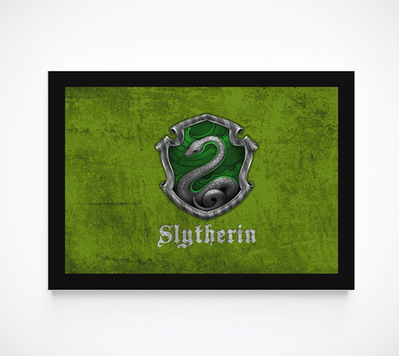 Quadro Decorativo Poster Harry Potter - Sonserina